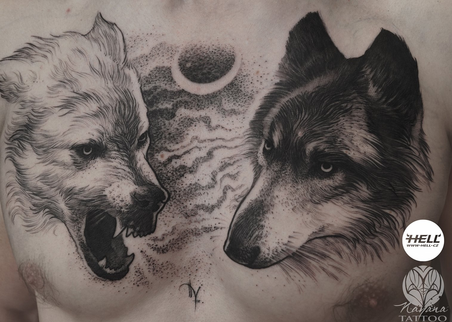 two-wolves-chest-tattoo-nayana