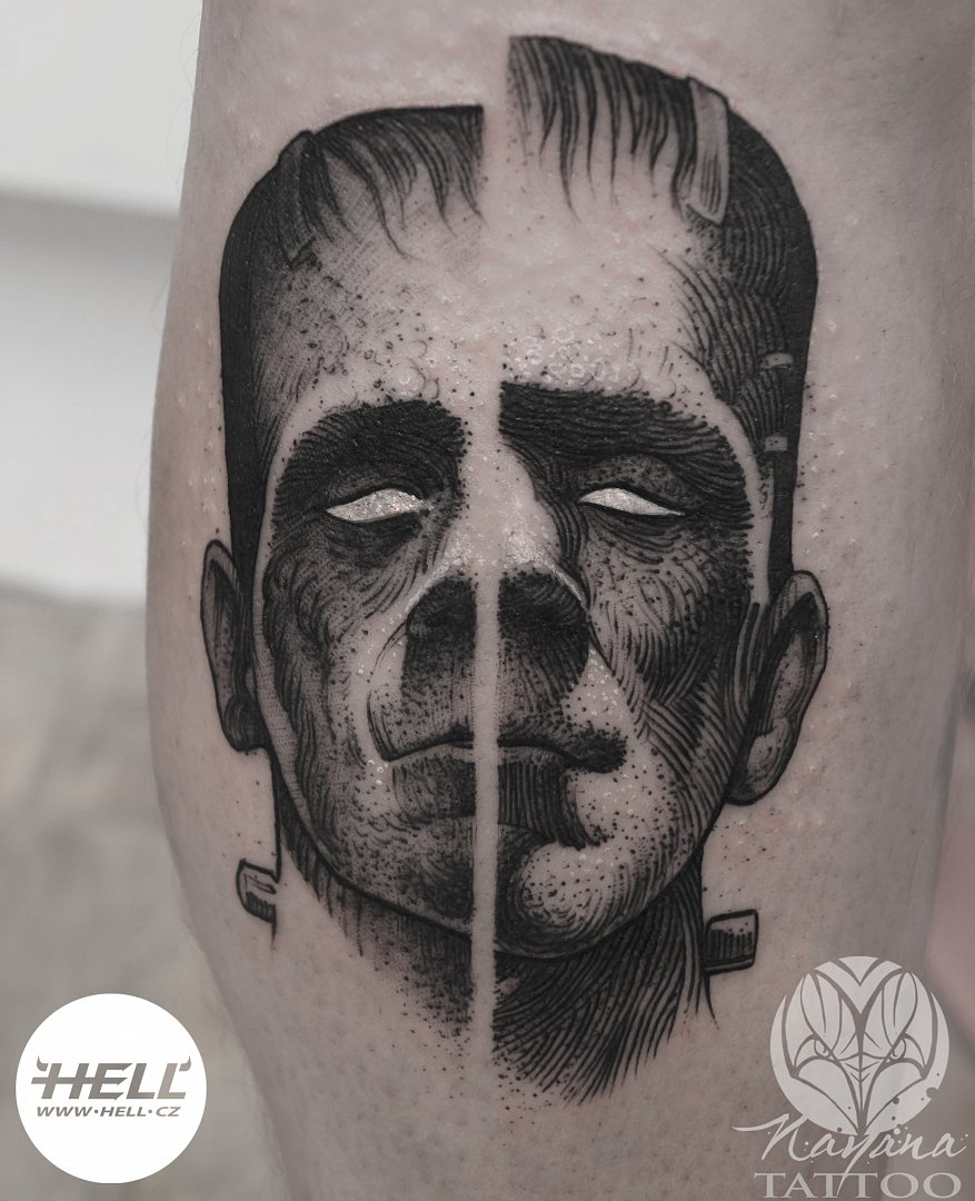 frankenstein-theme-tattoo-nayana