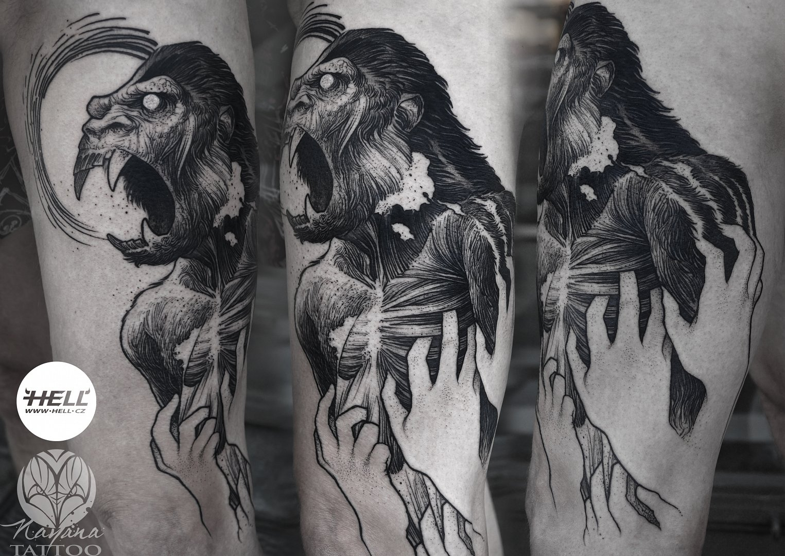 gorilla-scream-tattoo-nayana