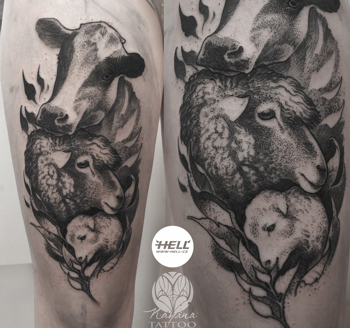 Farming Tattoo Designs : Tattoo works portfolio nayana