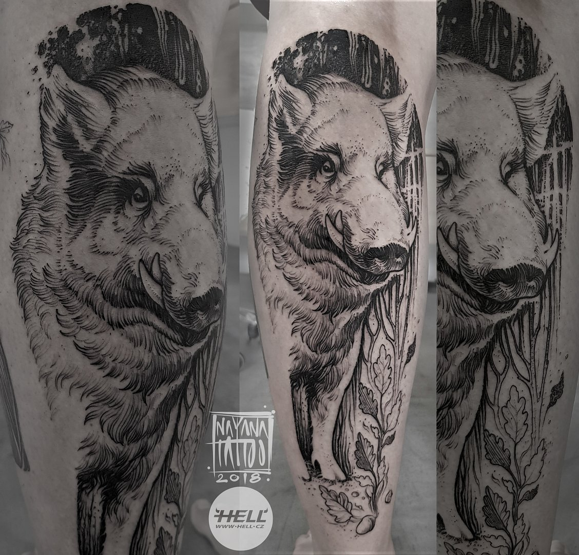 wild-boar--nayana-tattoo