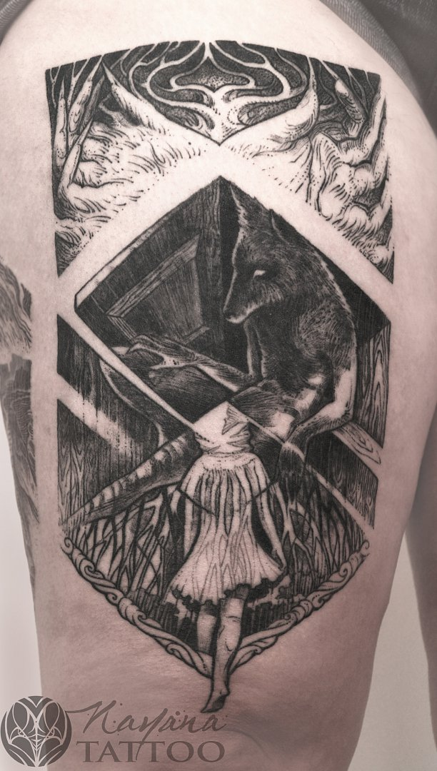 wolf-and-girl-tattoo-berlin-tattoo-convention-2015